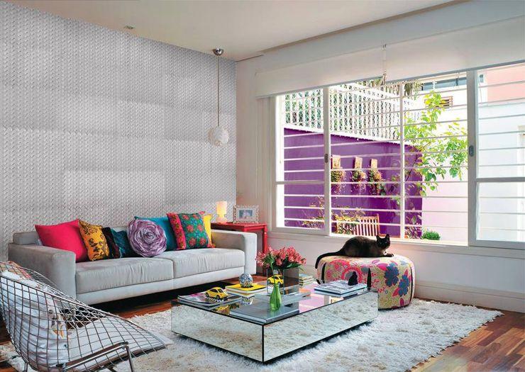 REVESTIMIENTOS DE CEMENTO Bara Modern living room