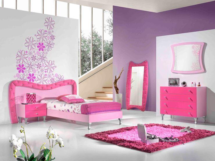 Intense mobiliário e interiores Nursery/kid's roomBeds & cribs MDF Pink