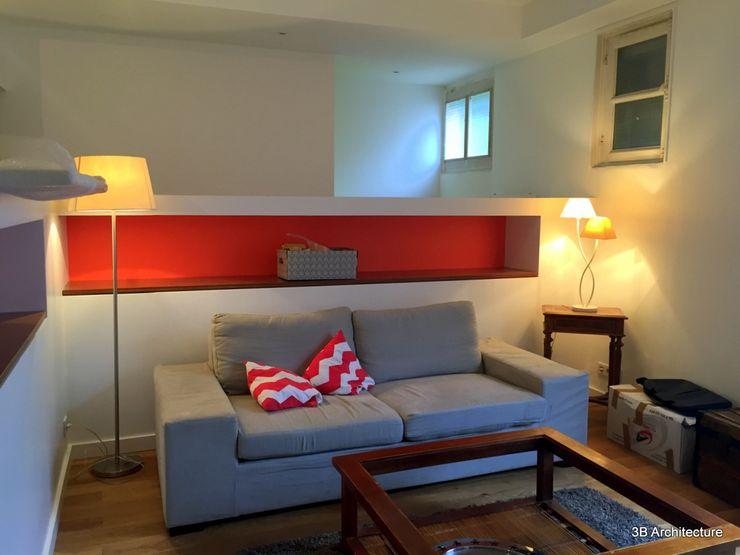 3B Architecture Phòng khách White