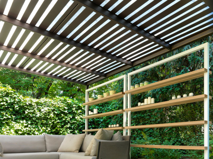 Cagis Balconies, verandas & terraces Furniture Besi/Baja Brown
