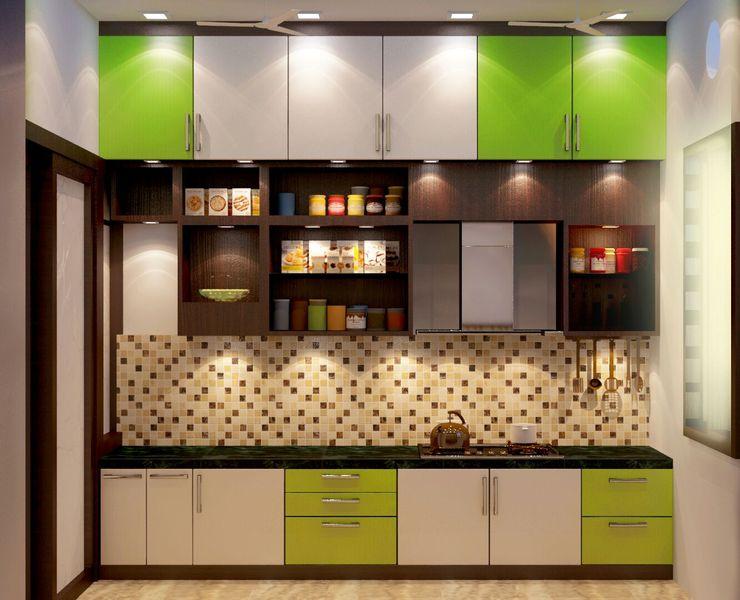 Modularkitchen Creazione Interiors Modern style kitchen