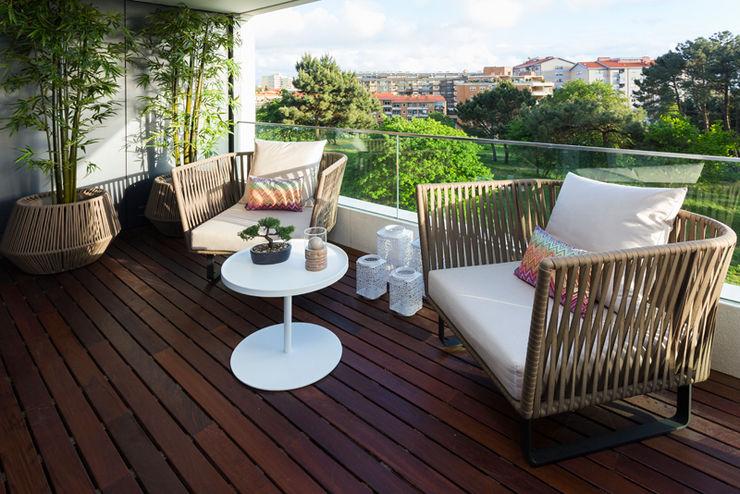 Atelier Susana Camelo Modern Terrace Green