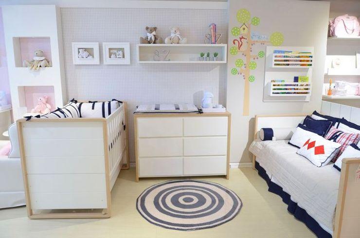 INTERCASA MÓVEIS INFANTIS E JUVENIS KinderzimmerBetten und Krippen Holz Weiß