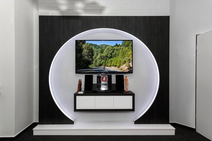 TV WALL Designmöbel Sala multimediaMuebles Compuestos de madera y plástico Marrón