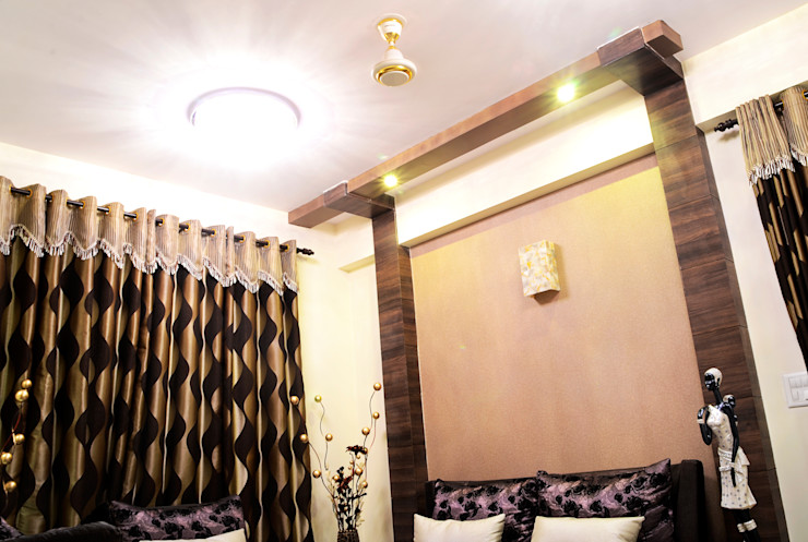 Arihant Ambience Apartment. Decor At Door Mediterranean style living room