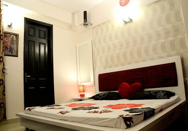 Arihant Ambience Apartment. Decor At Door Mediterranean style bedroom