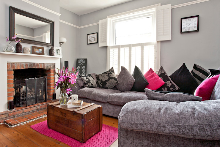 London Hip To Gable Loft Conversion and Extension A1 Lofts and Extensions Modern living room