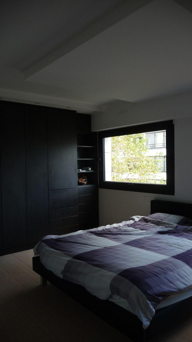 Duplex Parc de Bercy AADD+ Chambre moderne