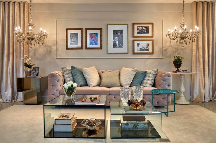 Decora Lider Salvador - Family Room Lider Interiores Salas de estar modernas