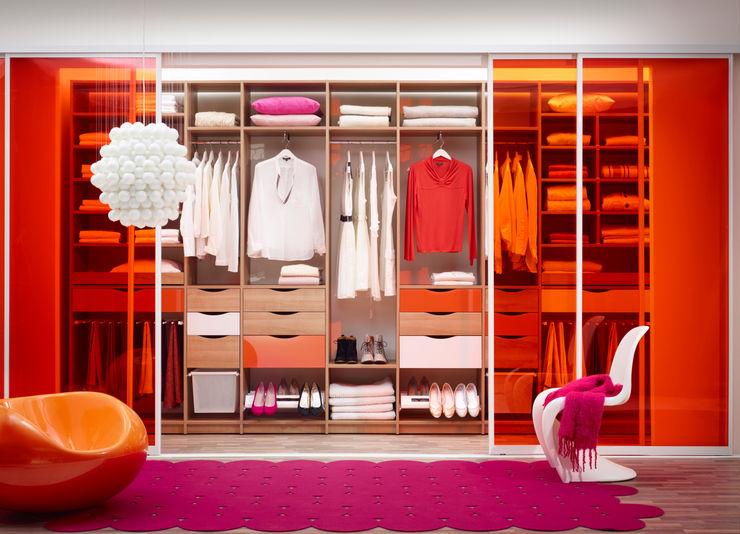 Elfa Deutschland GmbH Dressing roomWardrobes & drawers Wood-Plastic Composite Orange