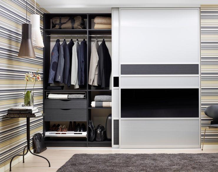 Elfa Deutschland GmbH Dressing roomWardrobes & drawers Wood-Plastic Composite Grey