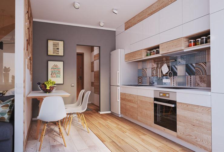 Kitchen Polygon arch&des Minimalist kitchen