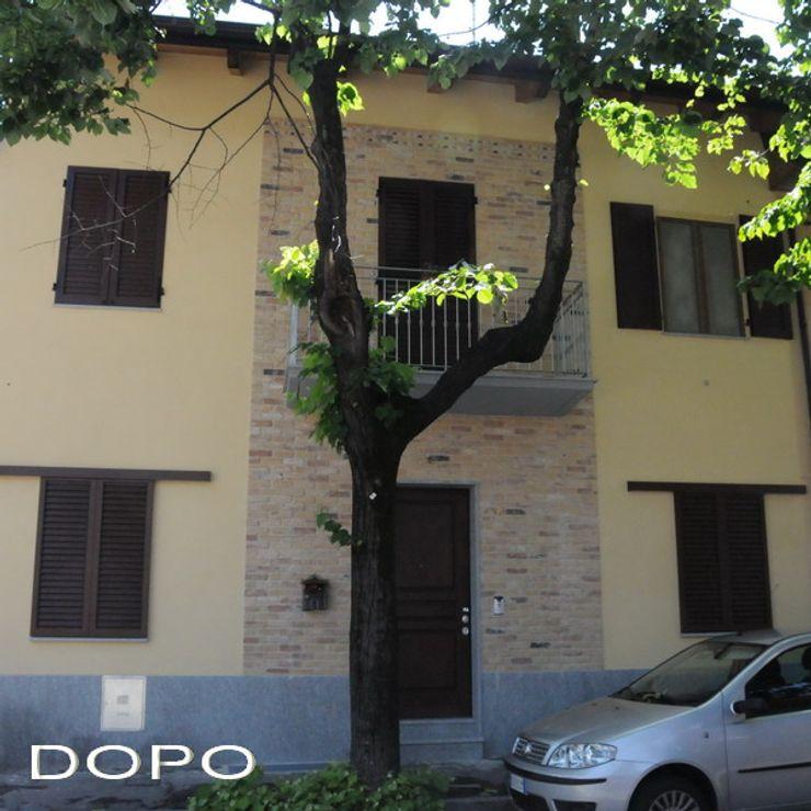 Casa SM ArchitetturaTerapia® Case classiche Laterizio
