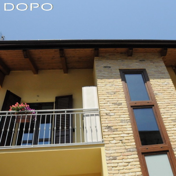 Casa SM ArchitetturaTerapia® Case moderne Laterizio