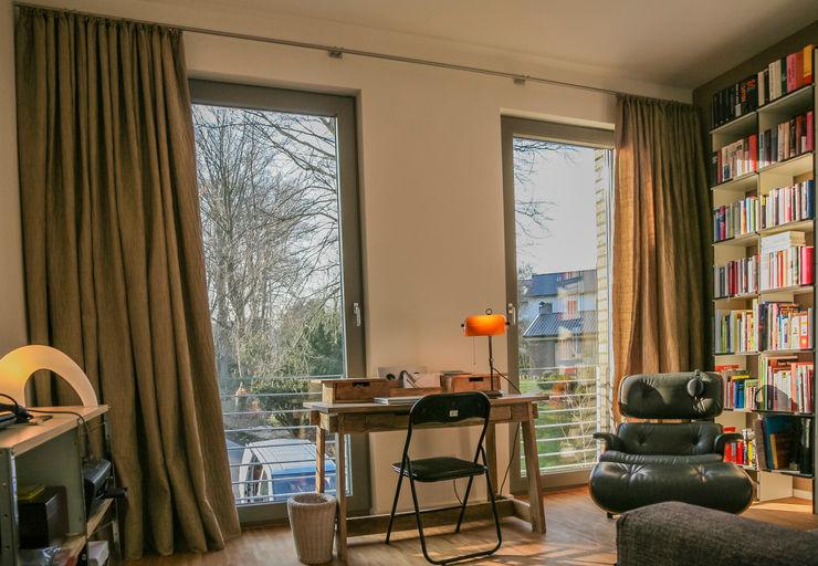 Dekoration Arbeitszimmer Frank Scheiter Wohnkonzepte Minimalistische Arbeitszimmer Textil Braun