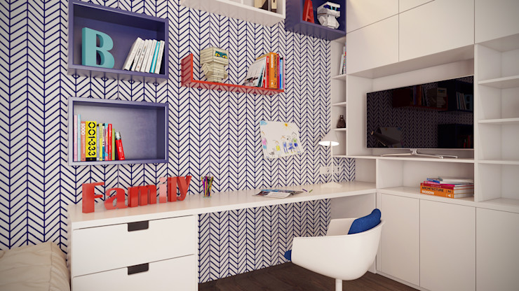 Artichok Design Minimalistische Kinderzimmer Holz Mehrfarbig