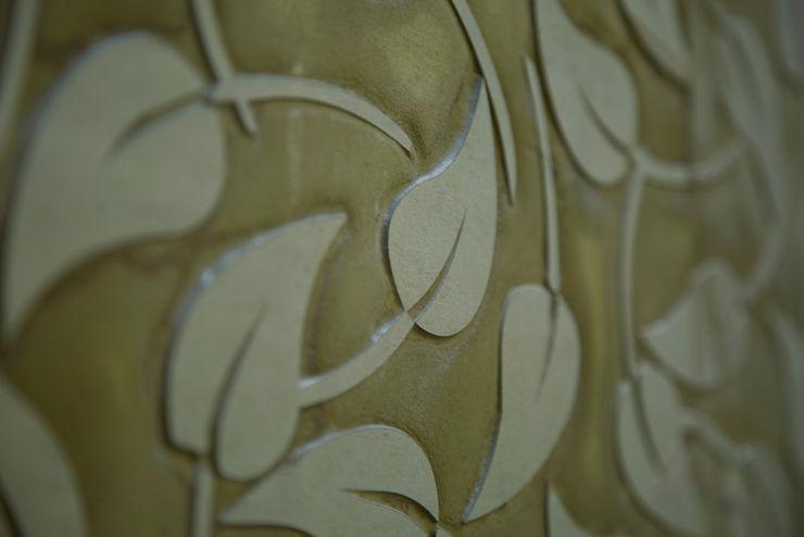 Stone cladding patterns homify Corridor, hallway & stairsAccessories & decoration
