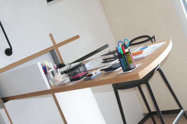 Appartement La Rochelle Atelier Nadège Nari Bureau moderne
