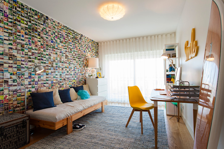 Traço Magenta - Design de Interiores Modern Bedroom