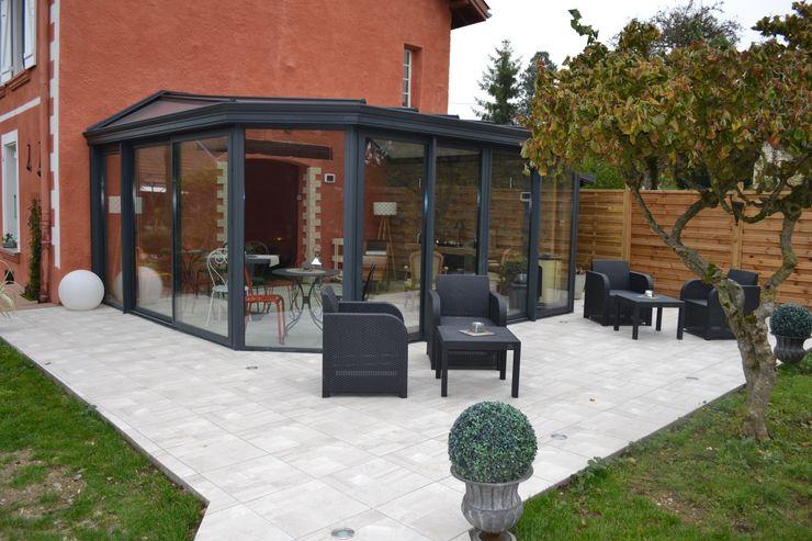 Véranda habitation principale KREA Koncept Balcon, Veranda & Terrasse originaux