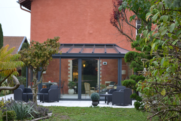 Vue Est KREA Koncept Balcon, Veranda & Terrasse originaux