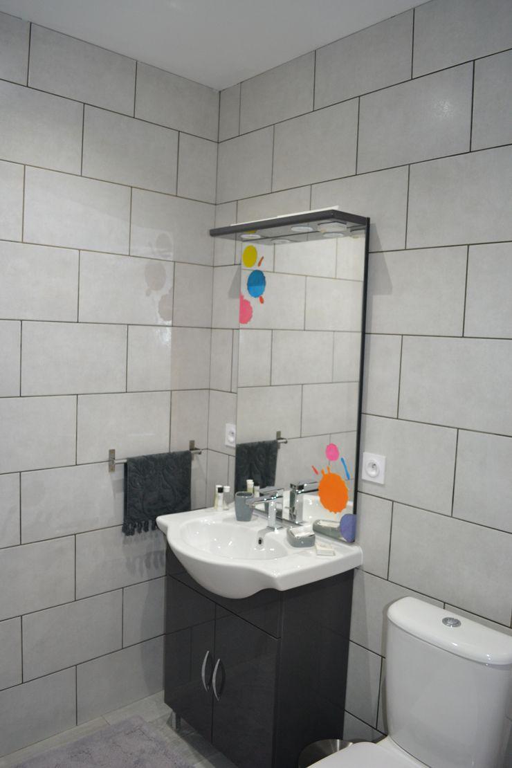 Salle d'eau de la chambre Arty KREA Koncept Salle de bain originale