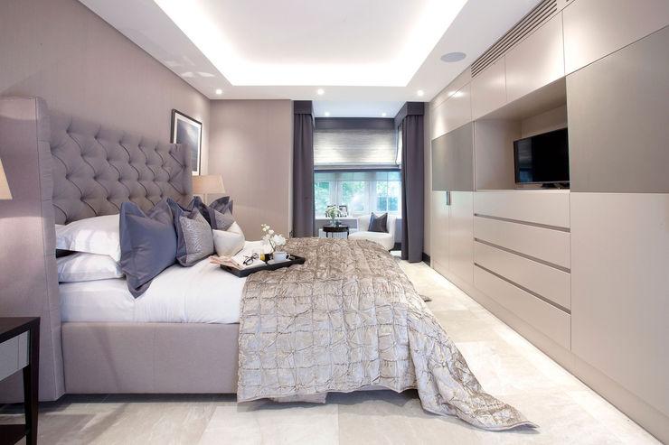 Parkside II JHR Interiors BedroomBeds & headboards
