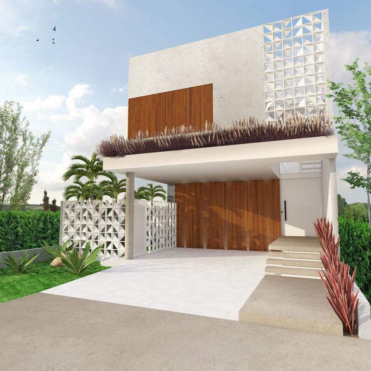 Macro Arquitetos Modern houses