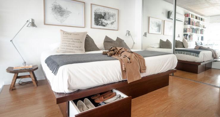 Dormitorio MeMo arquitectas Dormitorios de estilo moderno