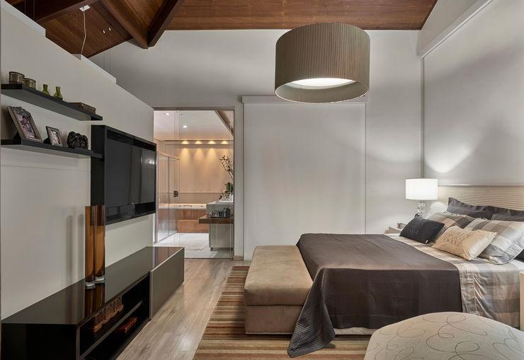Isabela Canaan Arquitetos e Associados Dormitorios de estilo moderno