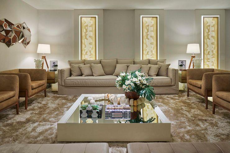 Decora Lider Vitória - Living e Cozinha Lider Interiores Salas de estar modernas