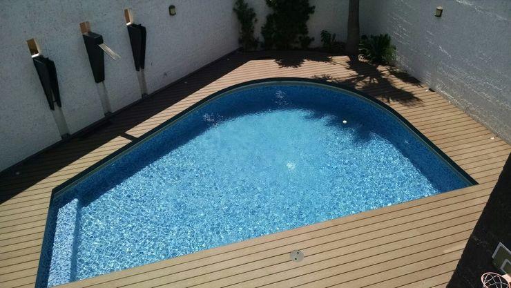 Grupo Boes Modern Pool Wood Wood effect