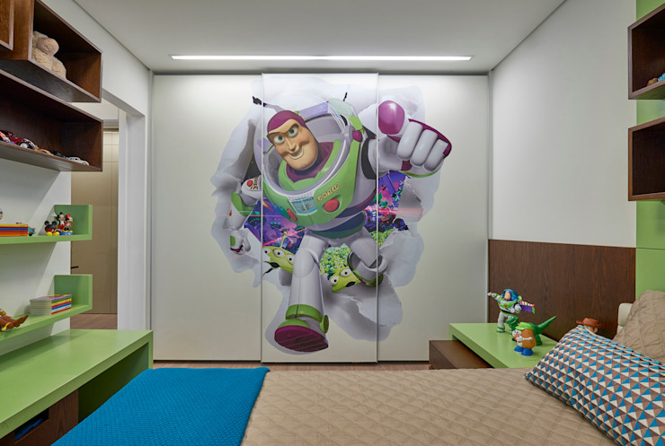 Isabela Canaan Arquitetos e Associados Modern nursery/kids room