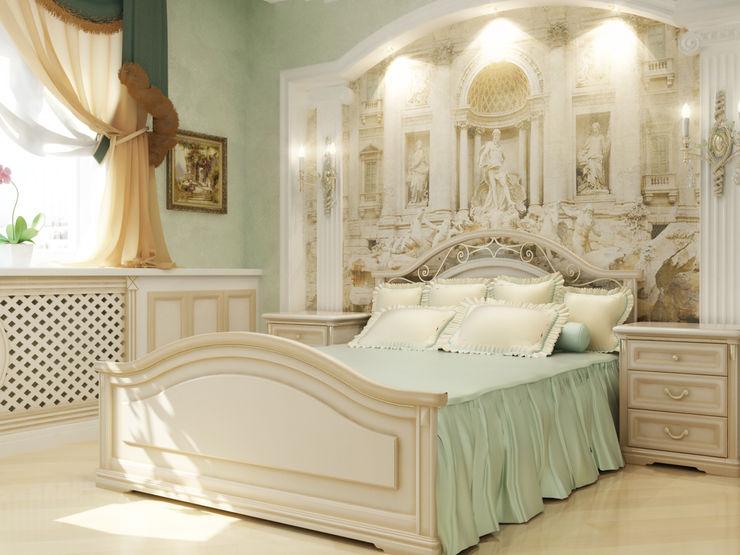 homify Dormitorios de estilo clásico Turquesa