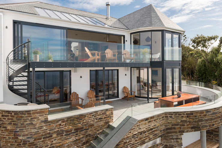 Gwel-An-Treth, Sennen Cove, Cornwall Laurence Associates Casas modernas