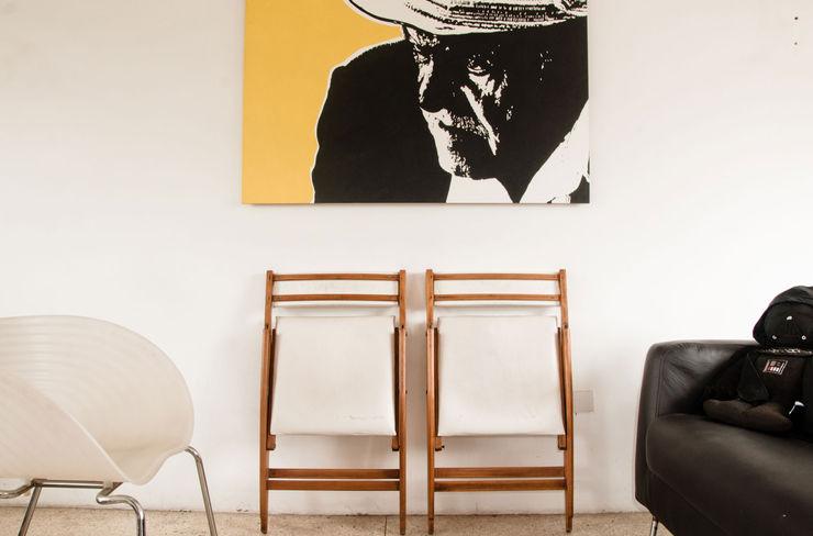 Recibidor PUNCH TAD Salas de estilo moderno Blanco