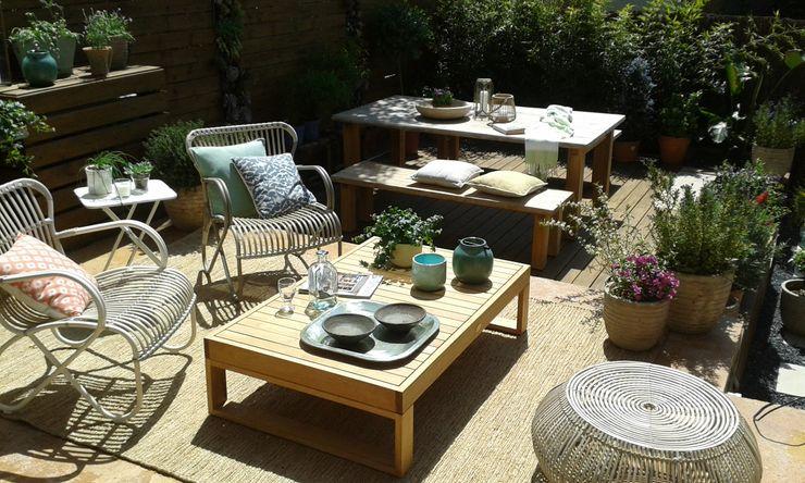 Jardin casa adosada Naturalgreen Jardiners JardínAccesorios y decoración