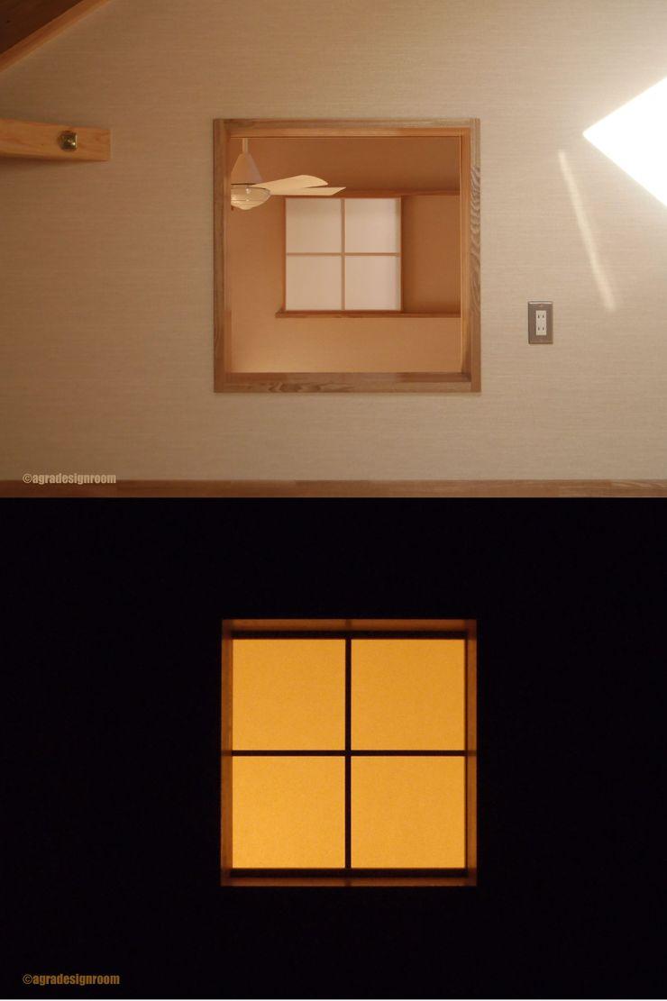 アグラ設計室一級建築士事務所 agra design room Windows & doors Windows