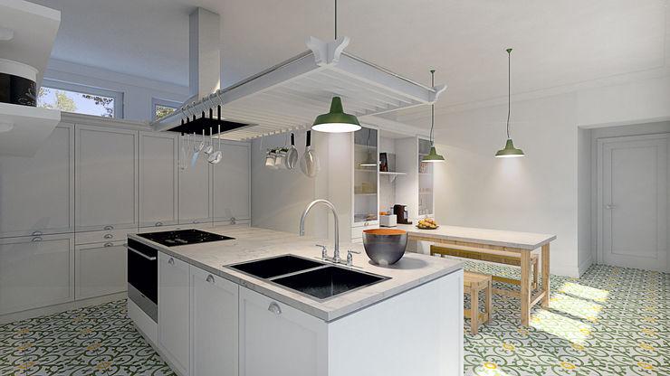 MRS - Interior Design Country style kitchen