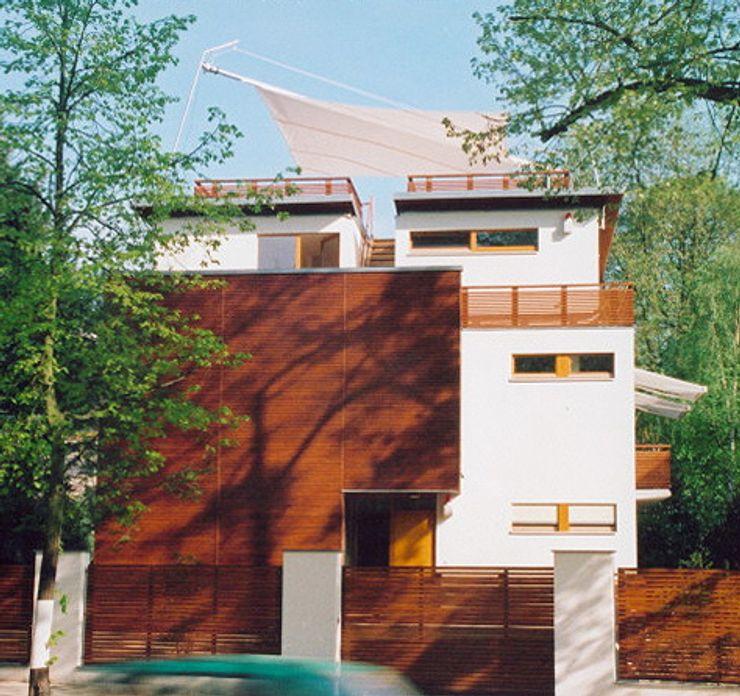Neubau einer Stadtvilla, Berlin Grunewald WAF Architekten Moderne Häuser