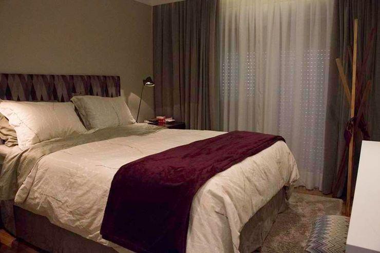 MONICA SPADA DURANTE ARQUITETURA Modern style bedroom