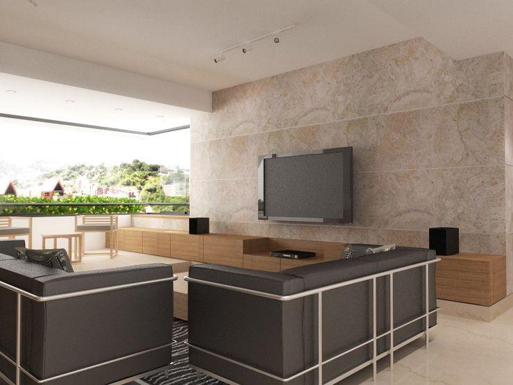 RRA Arquitectura Вітальня