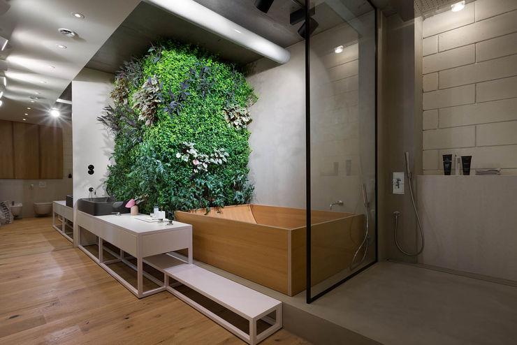 NPL. Penthouse Olga Akulova DESIGN Industrial style bathroom