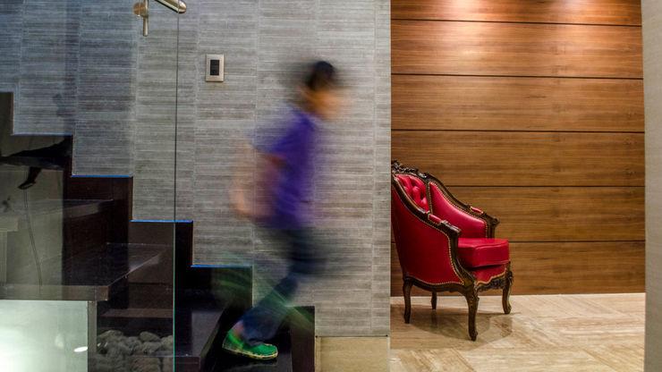 PH Altozano VODO Arquitectos Pasillos, vestíbulos y escaleras de estilo moderno