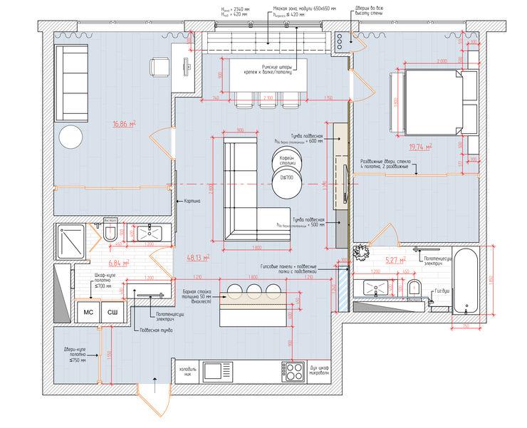 1+1 studio Minimalist walls & floors