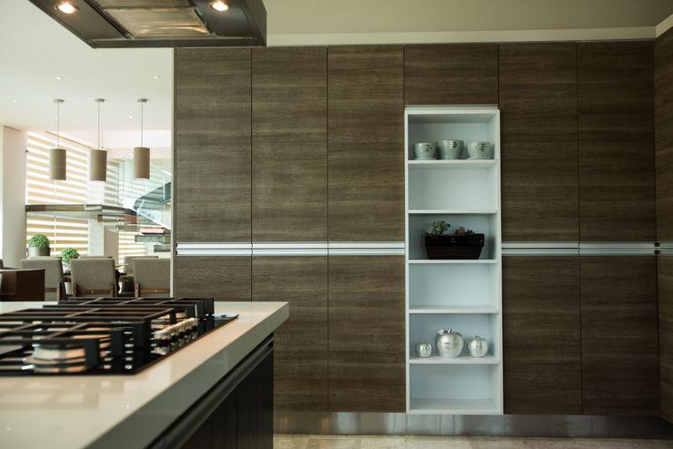 Alacena. Dovela Interiorismo Cocinas modernas Gris