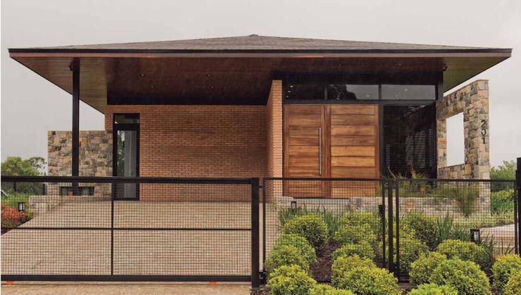 UNION Architectural Concept Casas rurales Piedra Acabado en madera