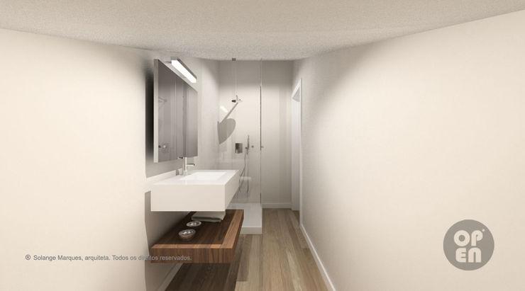 ATELIER OPEN ® - Arquitetura e Engenharia Modern bathroom