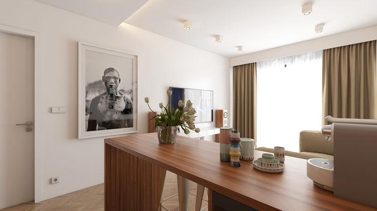 José Tiago Rosa Minimalist dining room
