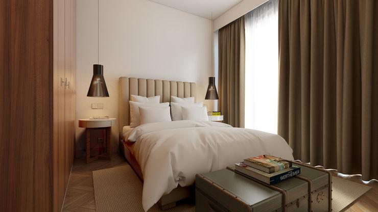 José Tiago Rosa Minimalist bedroom